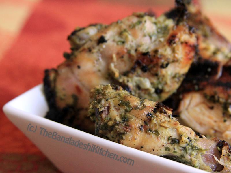 Yogurt and Cilantro Marinated Chicken